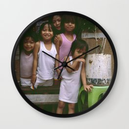 How Many Can We Squeeze into One Hut Wall Clock