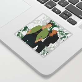Headstrong Lovers Sticker