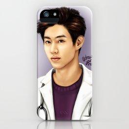 Pediatrician Mark Tuan (GOT7) - digital art iPhone Case