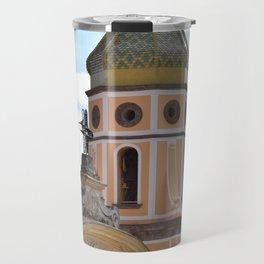 campanili della costiera amalfitana Travel Mug