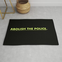 Abolish The Police. Rug