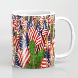 Field Of Flags Coffee Mug