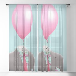 Balloon Head Sheer Curtain