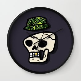 Style after death Wall Clock