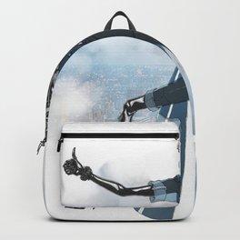 Blue New York City Backpack