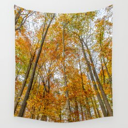 Reach High and Touch the Sky Wall Tapestry