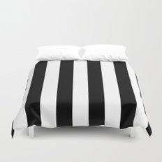 Black and White Stripes  Duvet Cover