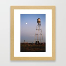 Moon Light Framed Art Print