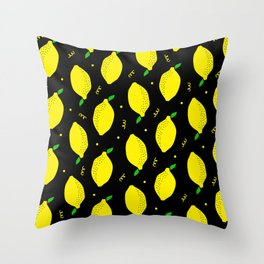 Lemon Squeezy 04 Throw Pillow
