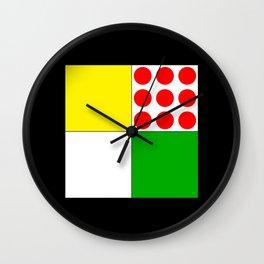 Tour de France Jerseys 1 Wall Clock