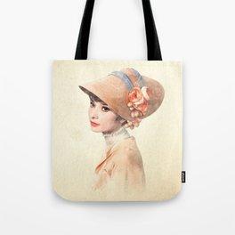 Audrey Hepburn - Eliza Doolittle - Watercolor Tote Bag