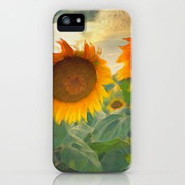 favorite sunset view iPhone Case
