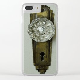 Glass Door Knob Clear iPhone Case