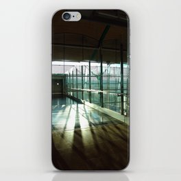 Boarding shadows iPhone Skin