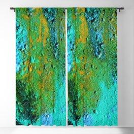 Pour Number 14:  Blue Lava Blackout Curtain