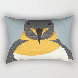 Whimsy Emperor Penguin Rectangular Pillow