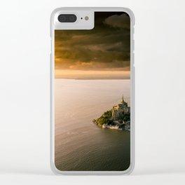 Mont Saint Michel Clear iPhone Case