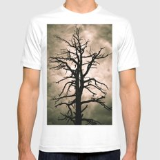 The Coming Storm White MEDIUM Mens Fitted Tee
