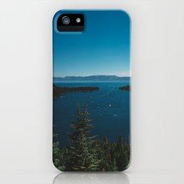 Lake Tahoe VI iPhone Case
