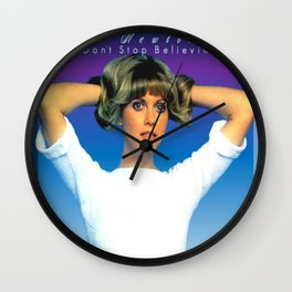 Olivia Newton-John - Don't Stop Believing Wall Clock