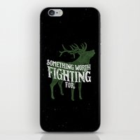 Something Worth Fighting For iPhone & iPod Skin