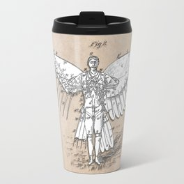 patent art Spalding Flying Machine 2    1889 Travel Mug