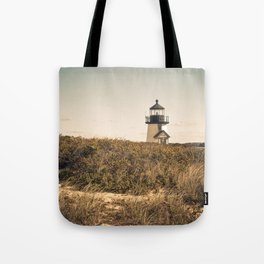 Nantucket Lighthouse Tote Bag