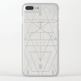 Astrologer-Journal-(On-Dark) Clear iPhone Case