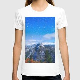 Mountain sky long exposure T-shirt