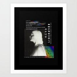 desktop collage april 10 2017 Art Print
