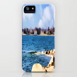 New England Shoreline - Painterly iPhone Case