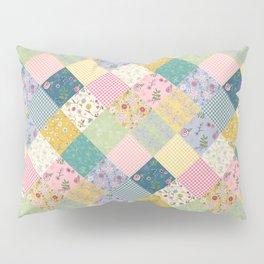 Spring cottage patchwork Pillow Sham