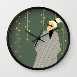 fashion old lady Wall Clock