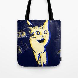 Horror Cat Tote Bag