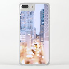 Pastel Nights Clear iPhone Case