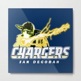 San Degobah Chargers Metal Print