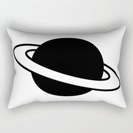 Saturn Planet Ring Icon Rectangular Pillow