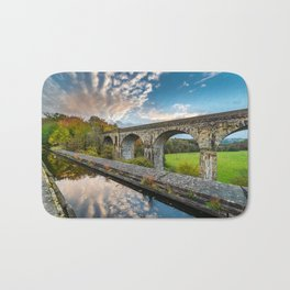 Chirk Aqueduct And Viaduct Bath Mat