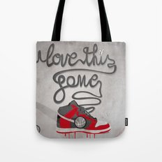 i love this game Tote Bag