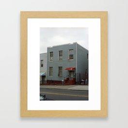 Brooklyn House 2001 #1 Framed Art Print