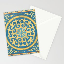 Kazakh national ornament Stationery Cards