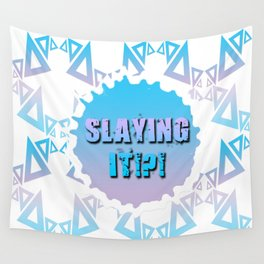 Slaying It!?! Wall Tapestry