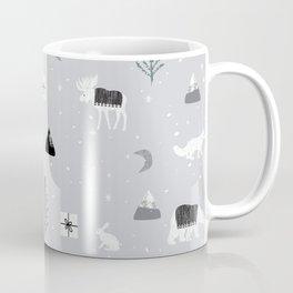 Rustic Arctic Woodlands Coffee Mug