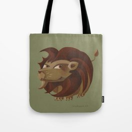 Leo (khaki) Tote Bag