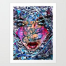 Gala  #Society6   #art   #buy art Art Print
