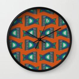 FISH TAILS Wall Clock