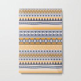 Tribal-Ethnic Metal Print