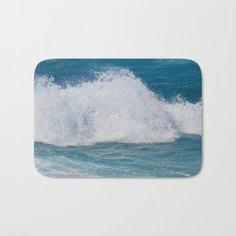 Hookipa Splash Waves Beach Break Shore Break Pacific Ocean Maui Hawaii Bath Mat