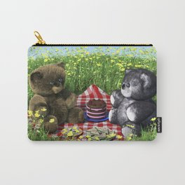Teddies Picnic Carry-All Pouch