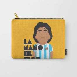 La Mano de Dios Carry-All Pouch
